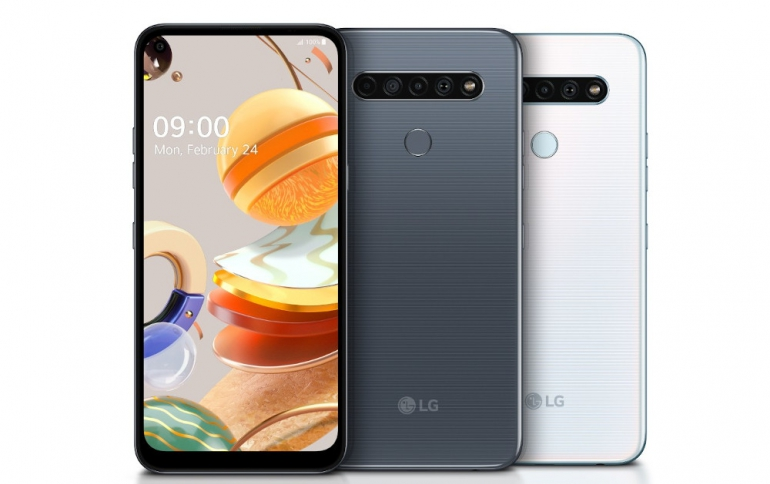 LG'S 2020 K Series Come With Quad Cameras