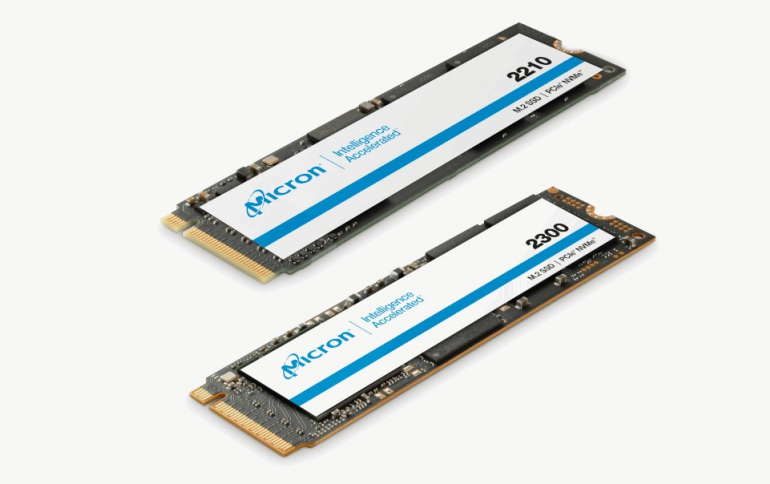 Micron Delivers New Client NVMe Performance and Value SSDs Based on  QLC NAND