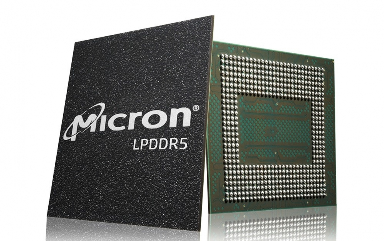Micron Delivers First Mass-Produced, Low-Power DDR5 DRAM for the Xiaomi Mi 10 Smartphone