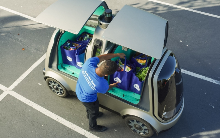 California Approves Nuro's Self-Driving Delivery Vehicles for Public Road Operations