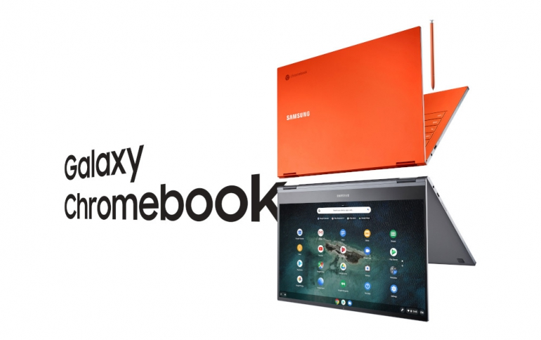 Samsung Galaxy Chromebook Now Available