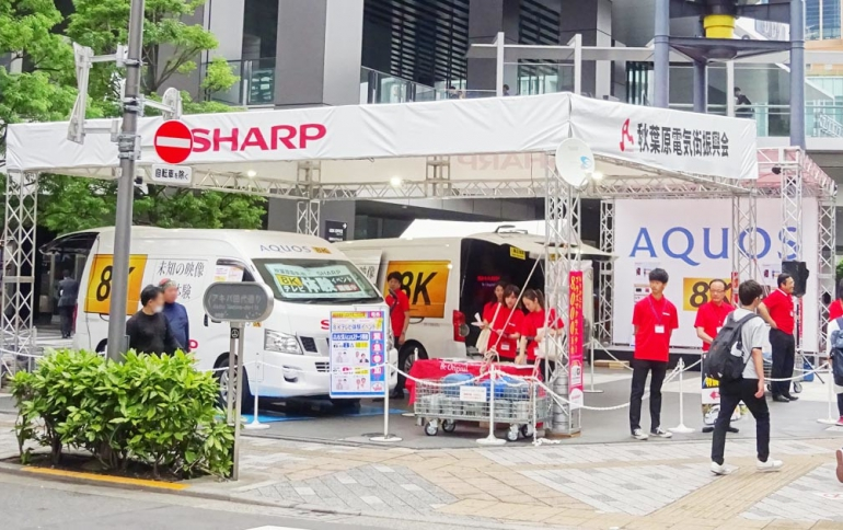 Sharp Cuts Full-year Profit Forecast as Virus Impacts Demand