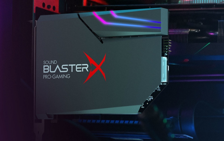 Creative Releases the Sound BlasterX AE-5 Plus Gaming Sound Card