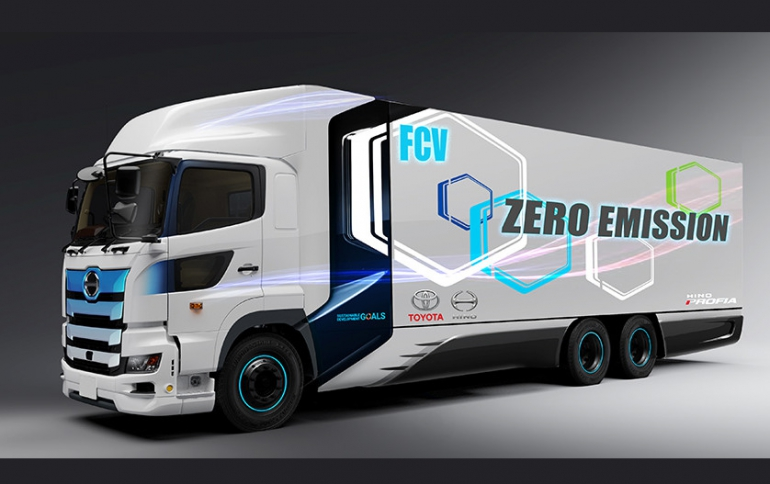Toyota and Hino to Develop Heavy-Duty Fuel Cell Truck