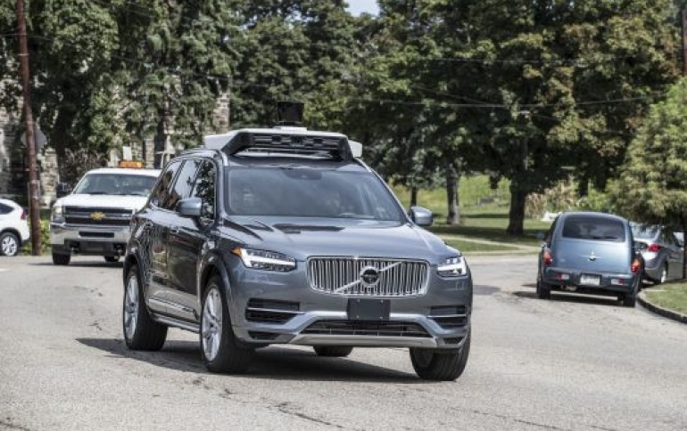 Uber's Self-driving Cars to Return to the Roads of California