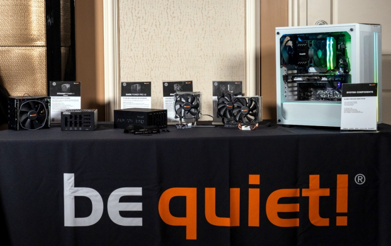 be quiet! Presents Power Supplies, Airflow-focused PC Chassis and New CPU Coolers in Las Vegas