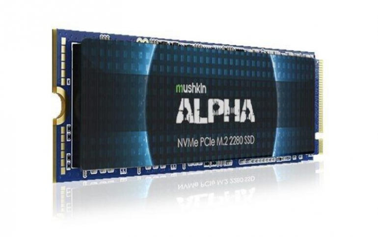 Mushkin Offers an 8TB M.2 NVMe ALPHA Series SSD