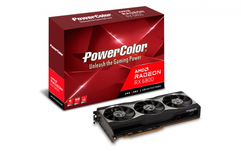 PowerColor Announces Radeon RX 6800 XT and RX 6800 Graphics Cards