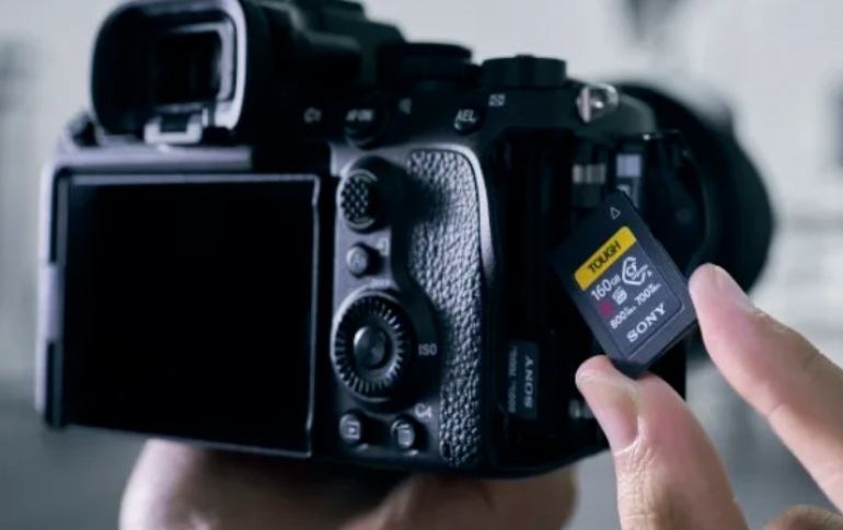 Sony Announces World's First CFexpress Type A Memory Card with High-speed Performance and Tough Durability
