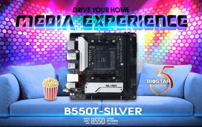 BIOSTAR ANNOUNCES THE NEW B550T-SILVER MOTHERBOARD