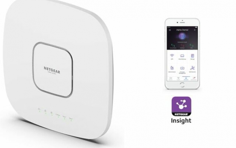 NETGEAR FURTHER EXTENDS WIFI 6 LEADERSHIP WITH TOP-OF-THE-LINE, TRI-BAND WIRELESS ACCESS POINT