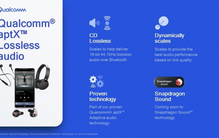 Qualcomm adds Bluetooth Lossless Audio Technology to Snapdragon Sound