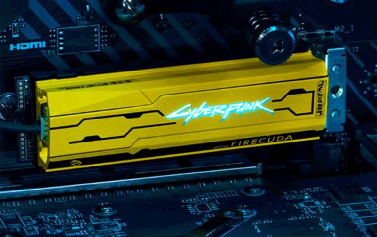 Seagate released Cyberpunk themed NVMe M2 SSDs!