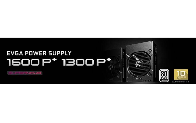 Introducing the New EVGA SuperNOVA 1600 and 1300 P+ Power Supplies
