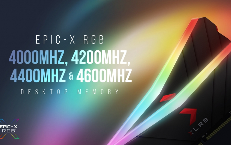 XLR8 Gaming EPIC-X RGB DDR4 4200MHz, 4400MHz, and 4600MHz Desktop Memory Pushing Performance to the Extreme