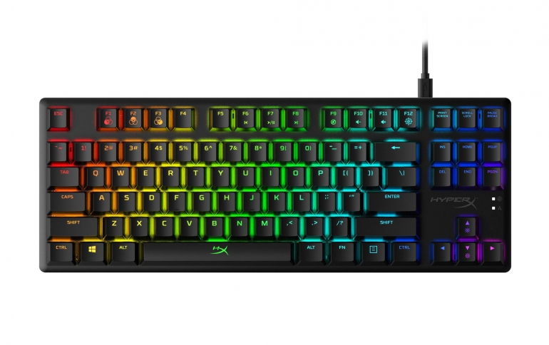 HyperX Adds Blue Mechanical Switches to Alloy Origins Core Gaming Keyboard Lineup