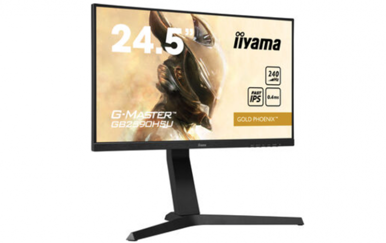 IIYAMA G-MASTER INTRODUCES THE ULTIMATE CHOICE FOR COMPETITIVE GAMERS - THE GB2590HSU-B1 GOLD PHOENIX