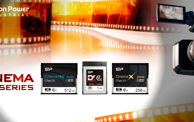 """SP Industrial Presents """"Cinema Series"""" CF Cards For Unparalleled 4K/8K Recording"""
