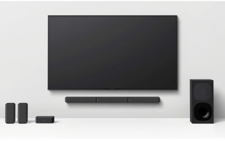 Enjoy powerful surround sound with the new HT-S40R from Sony