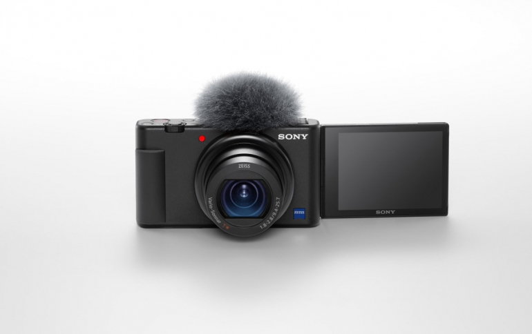 Sony Announces New ZV-1 Firmware Update Enables High-quality Video and Audio Livestreaming