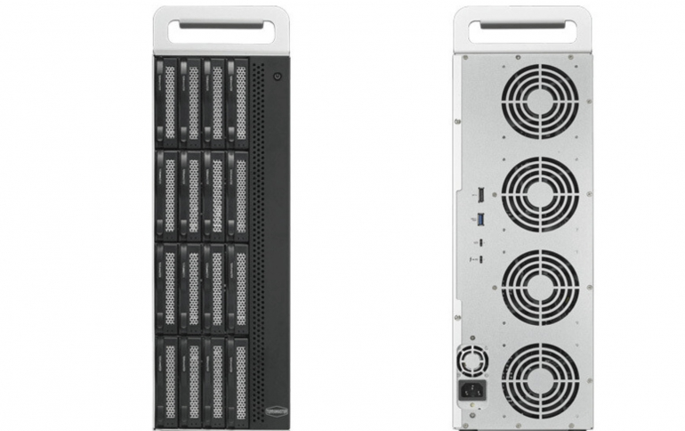 TerraMaster Introduces D16 Thunderbolt 3 Storage Tower at 3599 USD