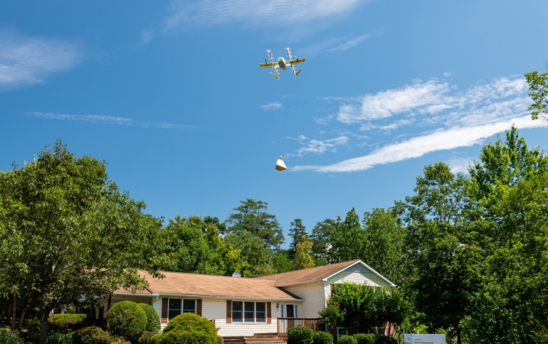 Alphabet's Wing Drone Delivery Service Starts in Australia