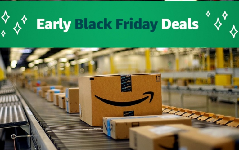 Amazon Launches Seven Days of Black Friday Deals