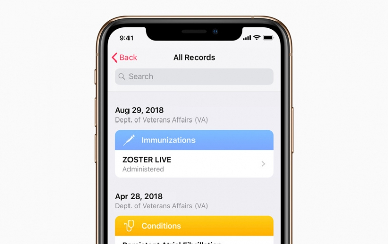 Apple to Bring Health Records Feature to Veterans's iPhones