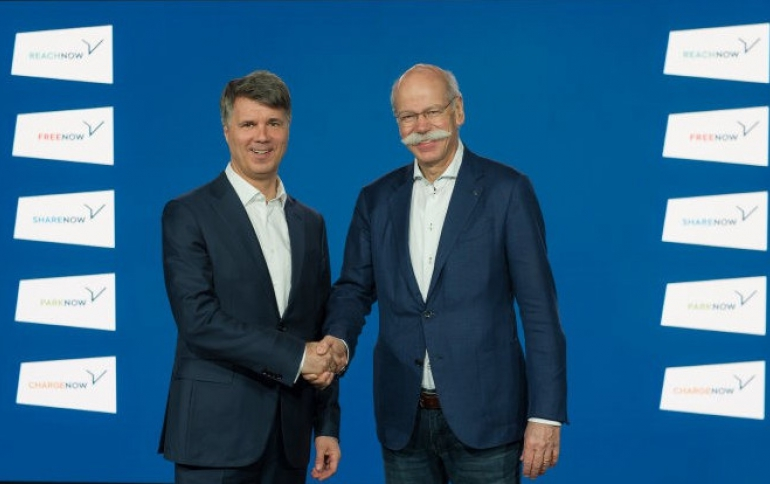 BMW Group and Daimler AG Invest more than €1 Billion in Mobility Services