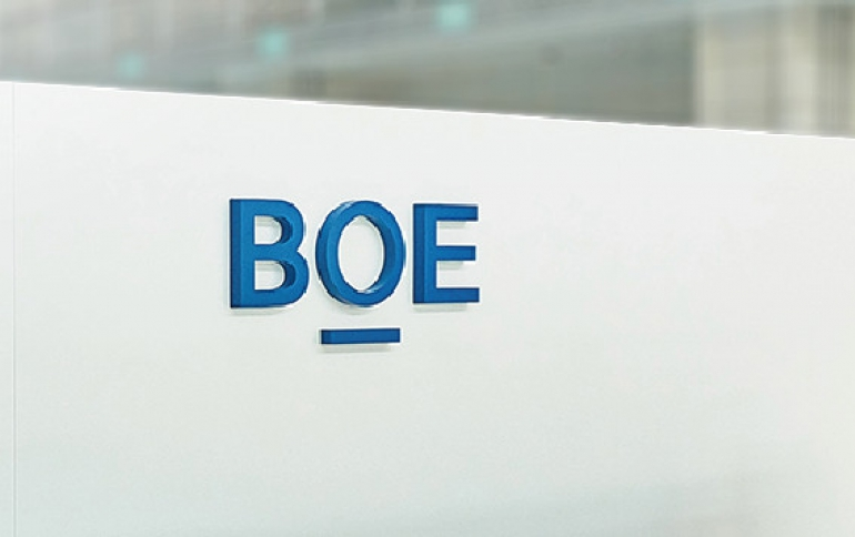 China's BOE to Become Top FPD Supplier This Year
