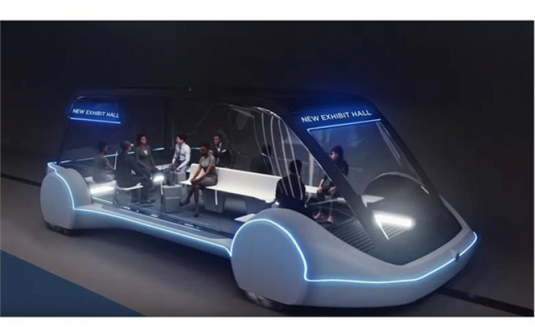 Elon Musk's Boring Company Announces New 'Loop' Network in Las Vegas Convention Center