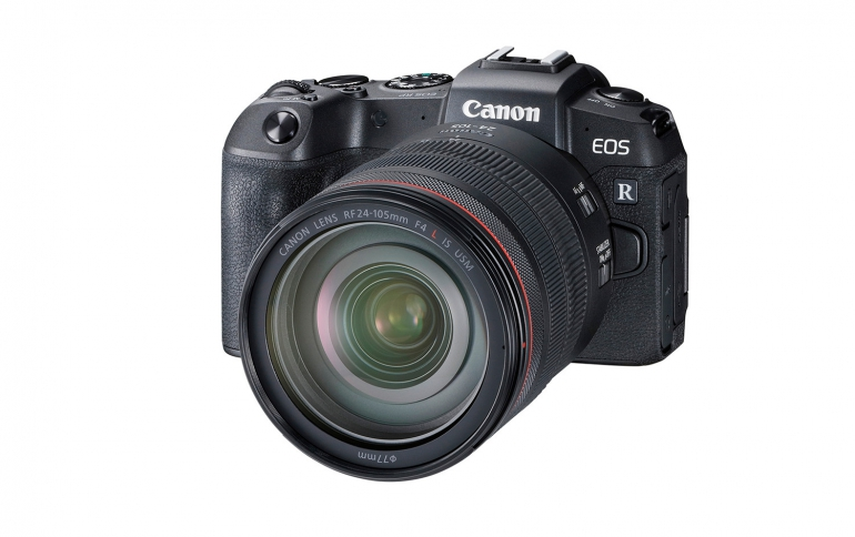 Canon Introduces the EOS RP Full-Frame Mirrorless Camera For The Masses