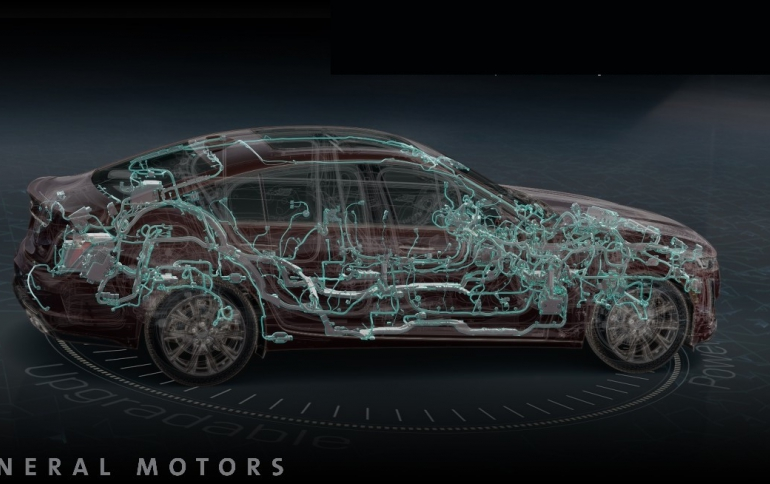General Motors Debuts New Digital Vehicle Platform