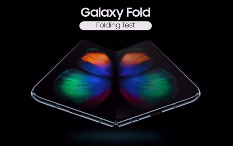 Samsung Touts High Durability of the Galaxy Fold's Display