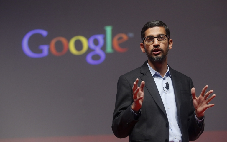 Google's Pichai Denies Plans for Chinese Search Engine Launch