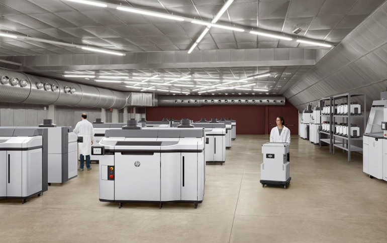 HP Announces New Industrial 3D Printing Solution, Industrial Alliances