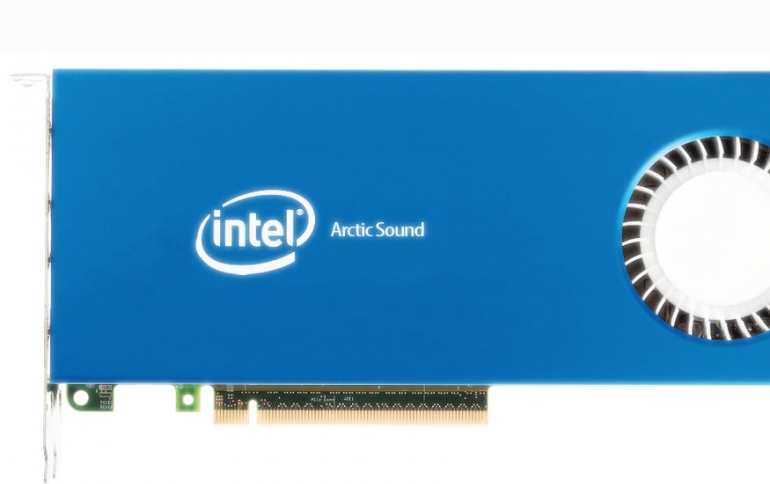 Intel to Hold Conference On 'Arctic Sound' Discrete GPU Plans Next Month