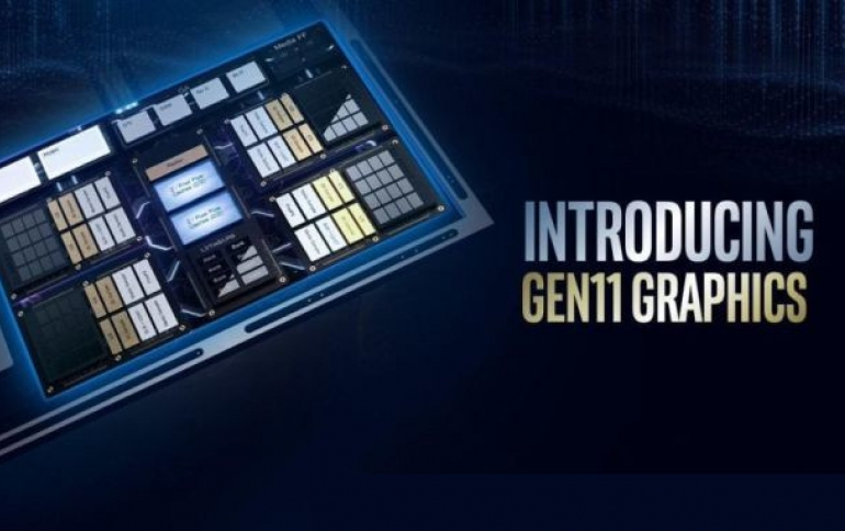 Intel Details Processor Graphics Gen11 Architecture