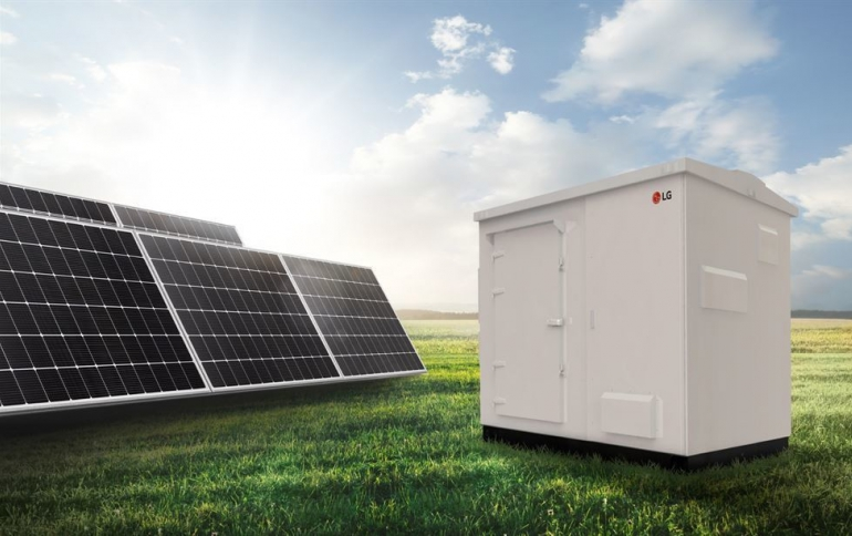 LG Electronics Unveils ESS for Small Solar Plants