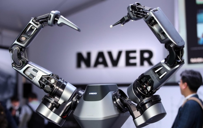 LG Teams Up With Naver on Robotics