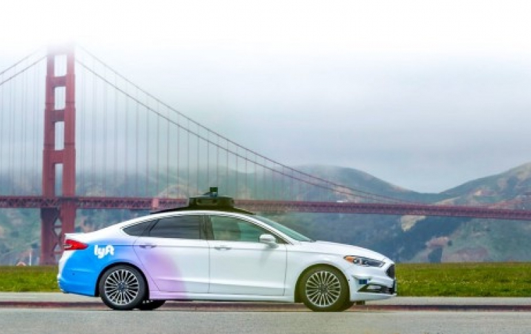 Lyft Makes Self-Driving Research Public