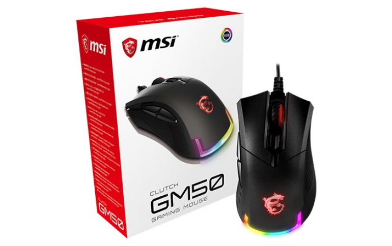 MSI Reveals CLUTCH GM50 Mouse and VIGOR GK60 Keyboard for Gamers