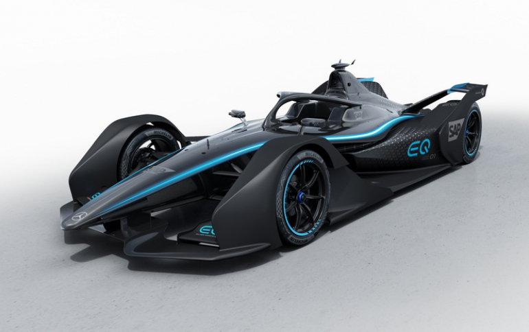 Electric Mercedes-Benz EQ Formula E Debuts at the Geneva International Motor Show