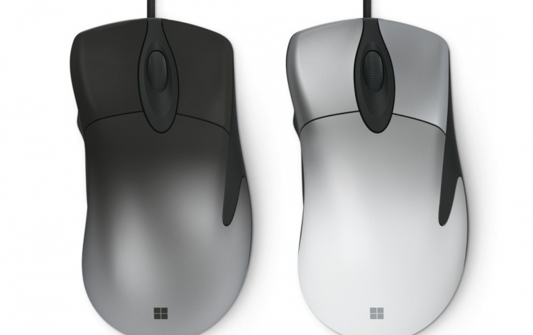 Microsoft Announces the Pro Intellimouse Mouse