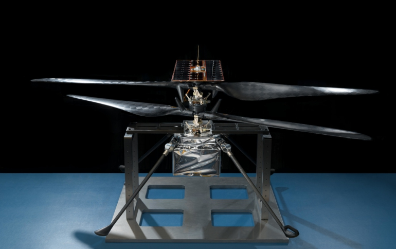 NASA's Mars Helicopter Completes Flight Tests