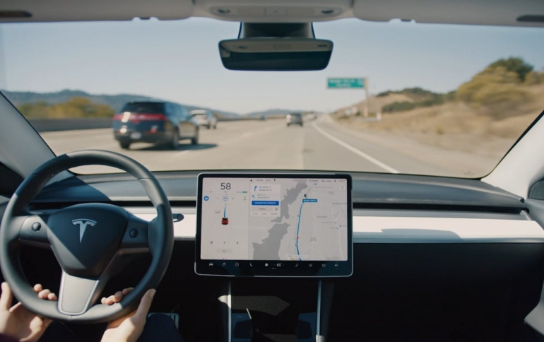 New Tesla Autopilot to Support Traffic Lights, Roundabouts, and Full Self-driving