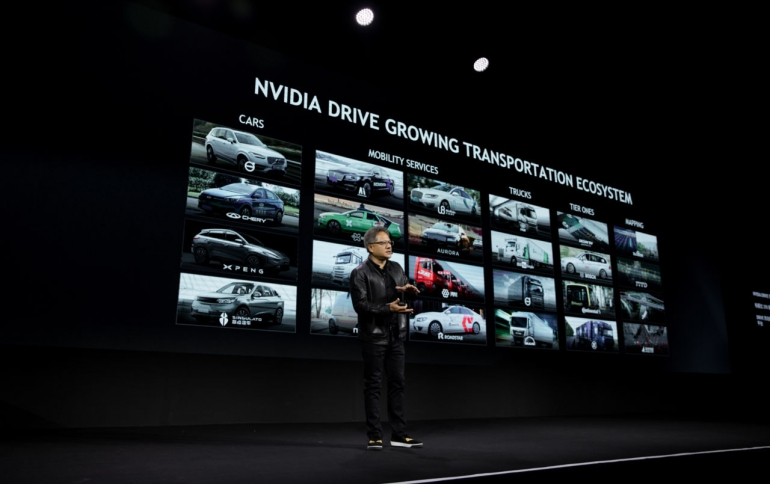 Nvidia to Provide AI platform For Chinese Auonomous Vehicle Start-ups