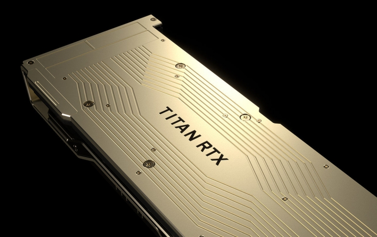 NVIDIA's New Flasghip Graphics Card is the $2500 TITAN RTX