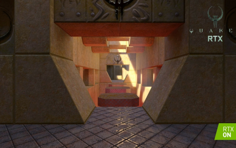 Quake II RTX PC Gaming Classic with Ray-Traced Graphics Available Now