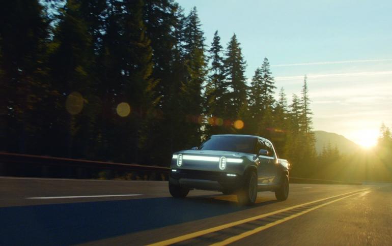 Rivian Unveils Electric Adventure Vehicles